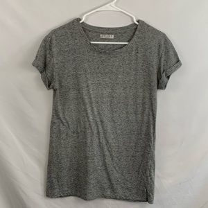 Awake classic grey t-shirt with rolled sleeves